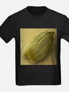 Green cardamom, SEM - Kid's Dark T-Shirt