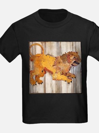 Leo - Kid's Dark T-Shirt