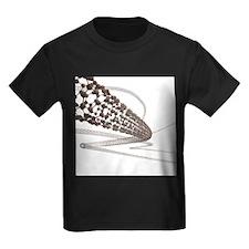 Nanotube technology, artwork - Kid's Dark T-Shirt