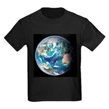 Blue Marble image of Earth (2005) - Kid's Dark T-S