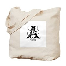 Annie: Fancy Monogram Tote Bag
