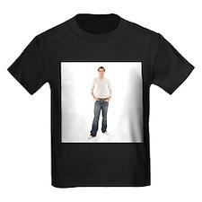 Healthy man - Kid's Dark T-Shirt