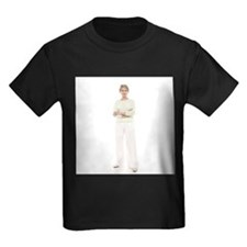Senior woman - Kid's Dark T-Shirt