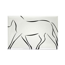 horse Rectangle Magnet