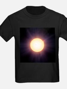 The Sun, artwork - Kid's Dark T-Shirt