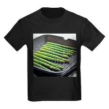 Asparagus spears - Kid's Dark T-Shirt