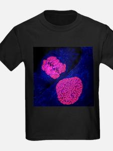 Breast cancer cells - Kid's Dark T-Shirt
