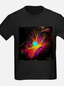 Cell structure - Kid's Dark T-Shirt