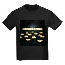 Dyslexia - Kid's Dark T-Shirt