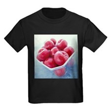 Plums - Kid's Dark T-Shirt