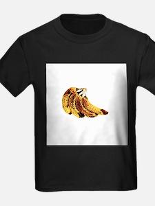 Ripe bananas - Kid's Dark T-Shirt