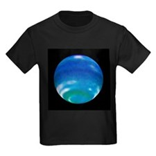 Neptune's changing seasons - Kid's Dark T-Shirt