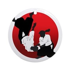 Aikido Ornament (Round)