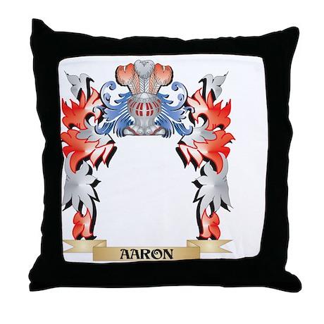 Wayman Coat of Arms - Family Crest Throw Pillow