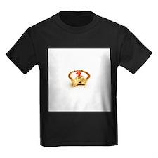 Tart with cherry - Kid's Dark T-Shirt