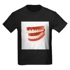 Toy teeth - Kid's Dark T-Shirt