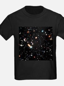 Very distant galaxies - Kid's Dark T-Shirt