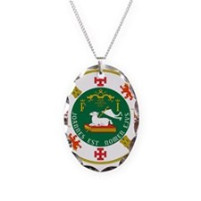 Great Seal of Puerto Rico Necklace