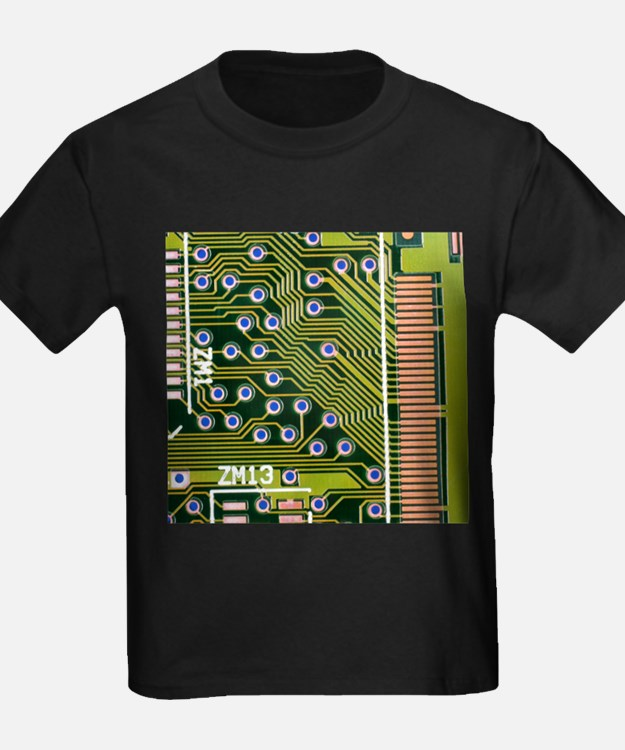 Macrophotograph of printed circuit board - Kid's D
