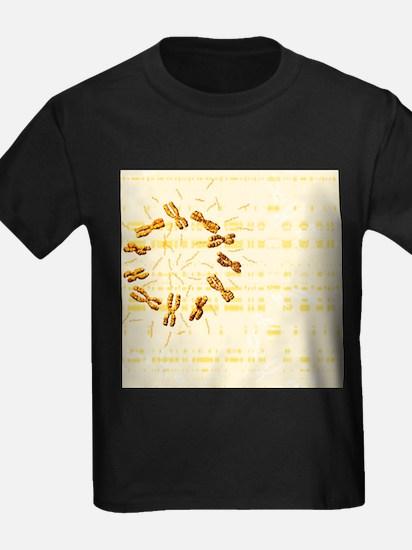 Chromosomes - Kid's Dark T-Shirt