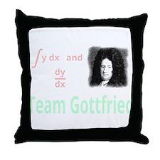 Team Gottfried (for dark background) Throw Pillow