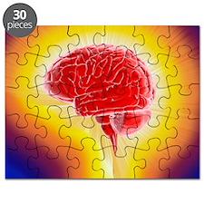 Creativity, conceptual artwork - Puzzle