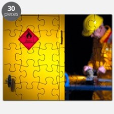 Health and safety at work theme - Puzzle