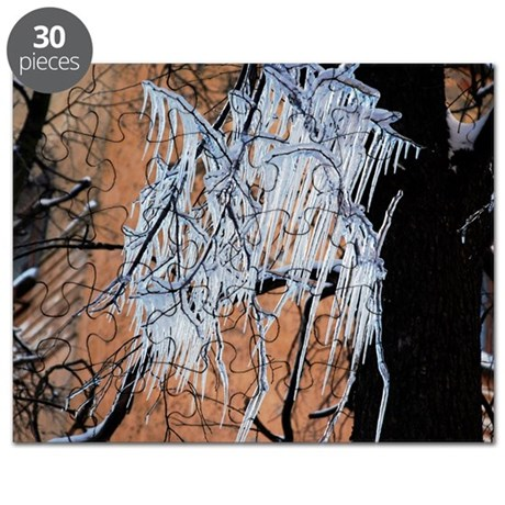 Icicles on a tree - Puzzle