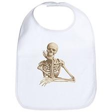 Skeleton Pal Bib