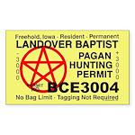Pagan Hunting Permit
