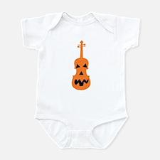 Violin Jack o'Lantern Infant Bodysuit