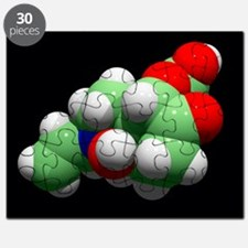 Naloxone opioid overdose antidote - Puzzle