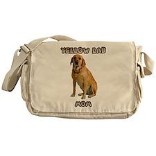 Yellow Lab Mom Messenger Bag