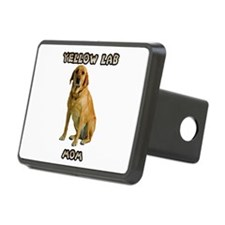 Yellow Lab Mom Hitch Cover