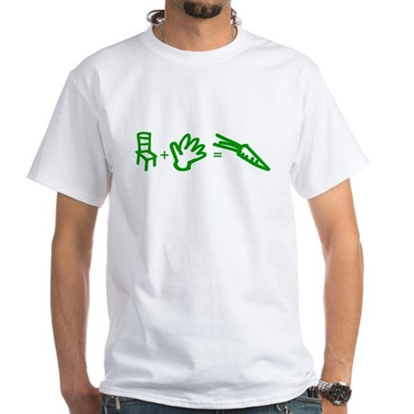 Chair-Hand-Carrot SequiTORN Tee