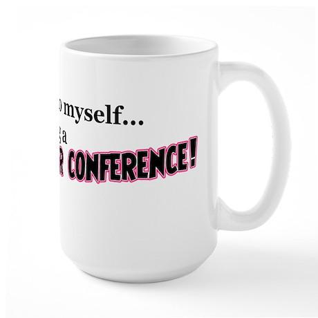 Parent-Teacher Conference Large Mug