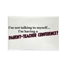 Parent-Teacher Conference Rectangle Magnet