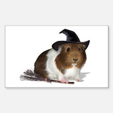 Guinea Pig Witch Decal