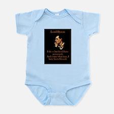 I Die - Lord Byron Infant Bodysuit
