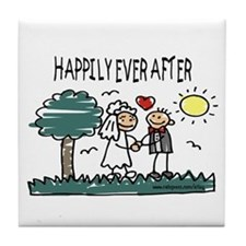 Happily Ever After Tile Coaster