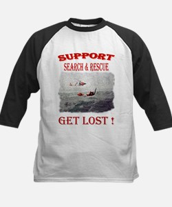 Support Get Lost Baseball Jersey