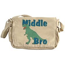 Middle Brother Dinosaur Messenger Bag