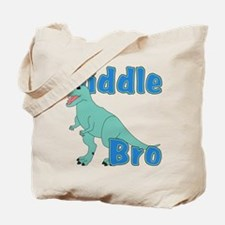 Middle Brother Dinosaur Tote Bag