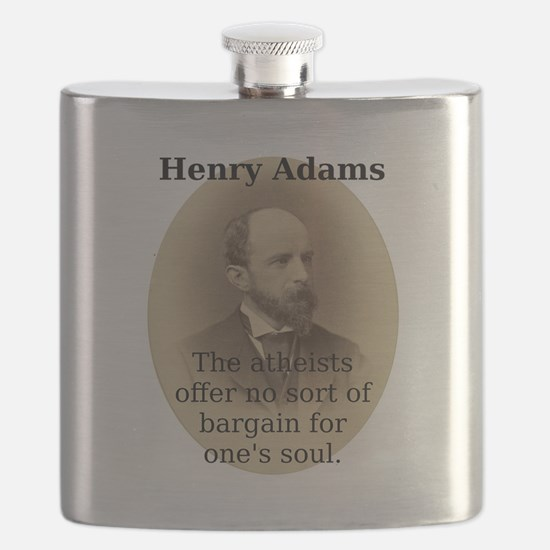 The Atheists Offer - Henry Adams Flask