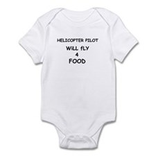 Will Fly 4 Food Infant Bodysuit