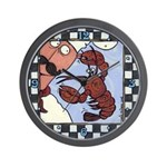 Lobster Pinch Wall Clock