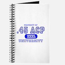 .45 ACP University Pistol Journal
