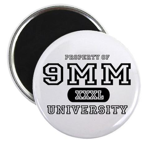9mm University Pistol Magnet