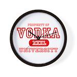 Vodka University Wall Clock