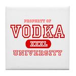 Vodka University Tile Coaster